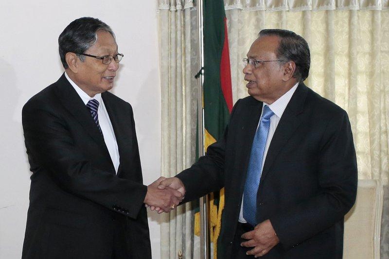 Abul Hassan Mahmud Ali, Kyaw Tin