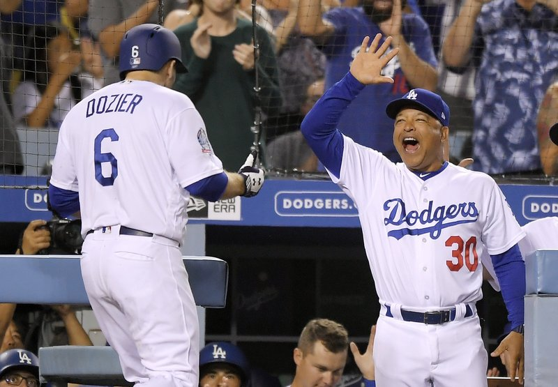 Brian Dozier, Dave Roberts