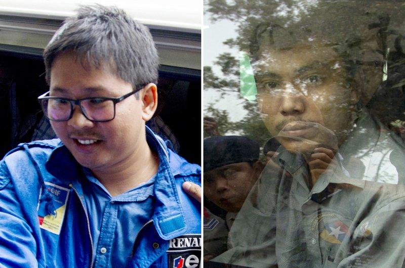 Wa Lone, Moe Aung