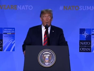 Trump: US Commitment To NATO 'Very Strong'