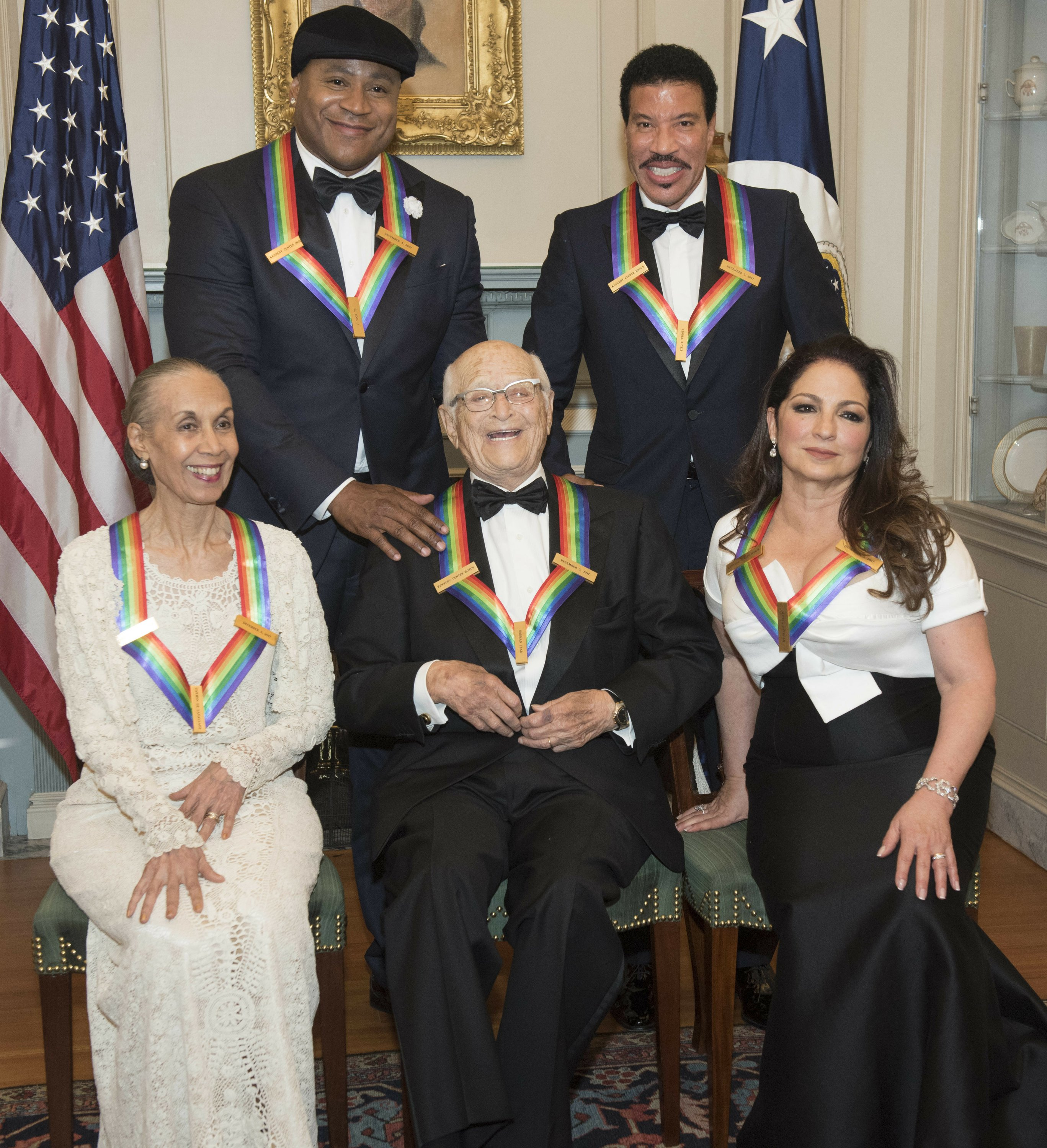 The Latest: Kennedy Center honorees get special tributes
