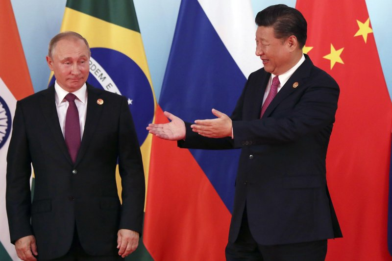 Xi calls for BRICS to play a bigger role in world governance