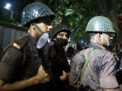 Raw: Hostages Taken at Bangladesh Restaurant