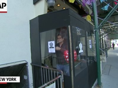 NYC Immigrant Restaurant Owner Joins Protest