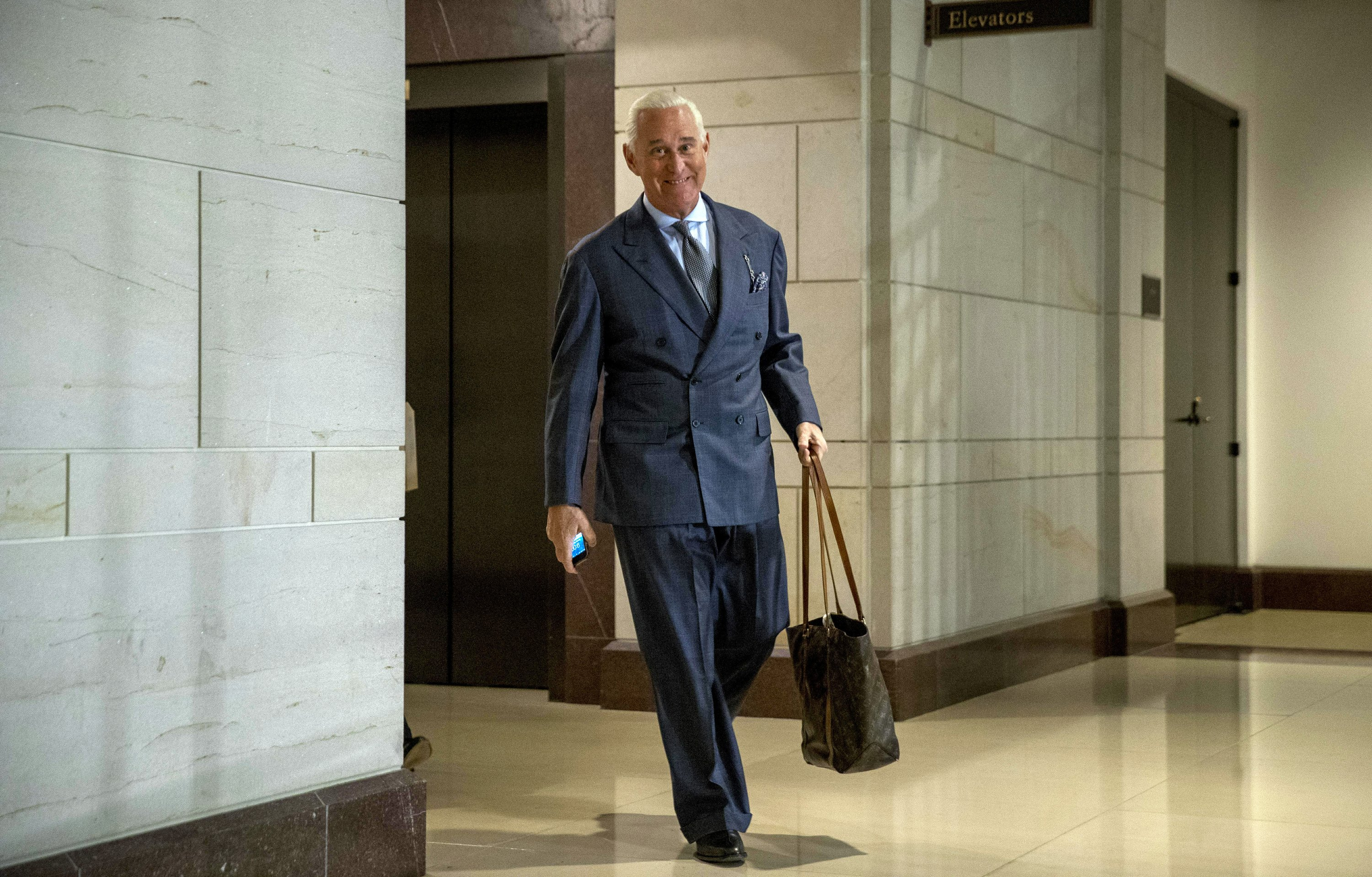 Roger Stone associate expects to be charged in Mueller probe