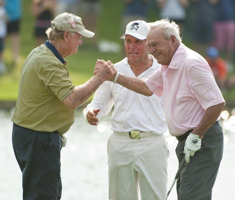 Gary Player, Arnold Palmer, Jack Nicklaus