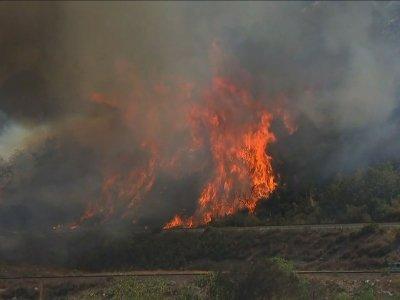 Progress Reported in California Firefight