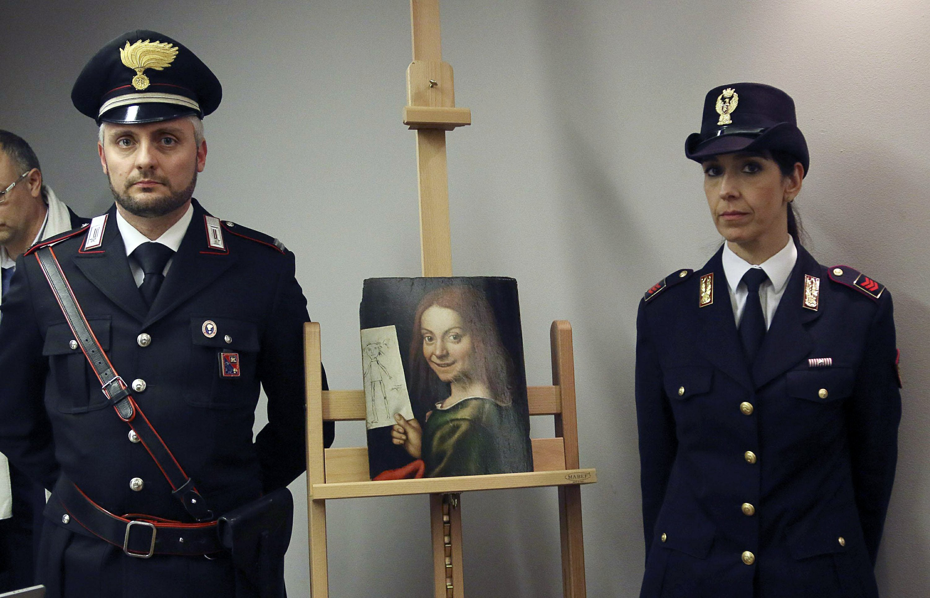 17 stolen masterpieces returned to Italy with only scratches