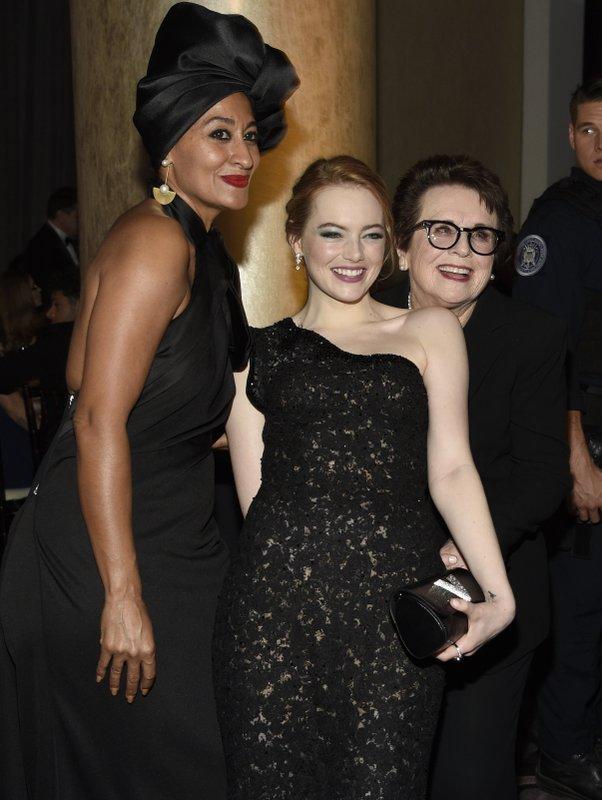 Tracee Ellis Ross, Emma Stone, Billie Jean King