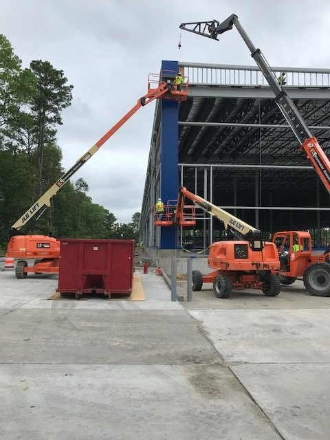 Iconic Blue Panels Shape Exterior of Future IKEA Norfolk as Construction Progresses on Second Virginia Store to Open Spring 2019