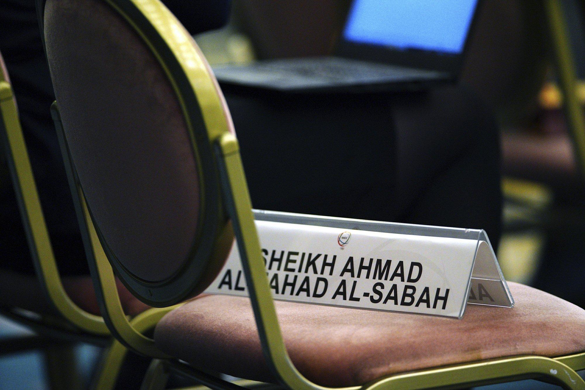 IOC President Bach lavishes praise on suspended Sheikh Ahmad