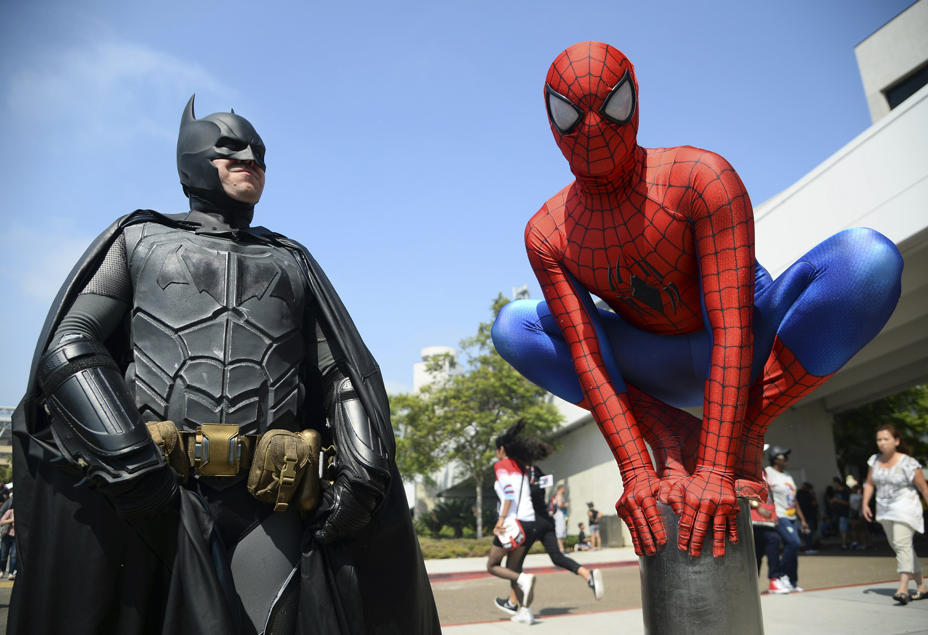 Comic-Con blasts into San Diego with movies, games, shows