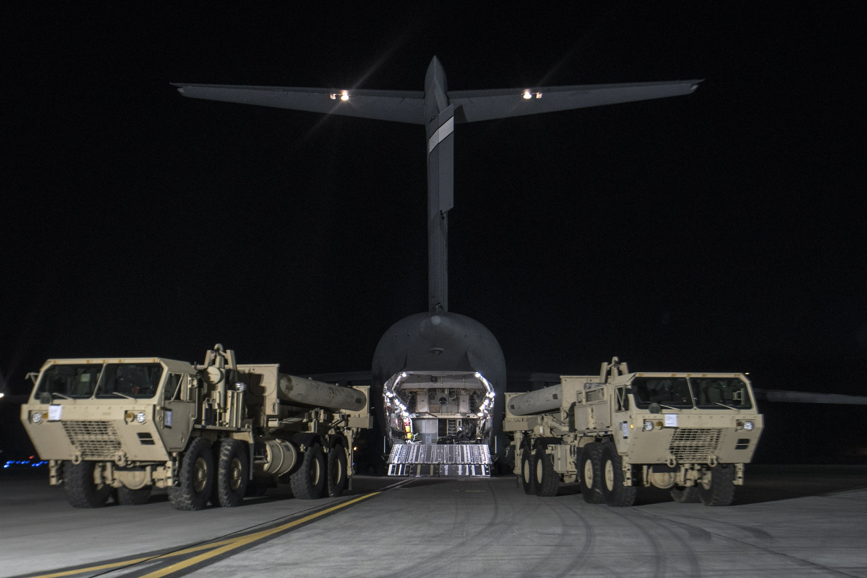 US moves parts of controversial missile defense to SKorea