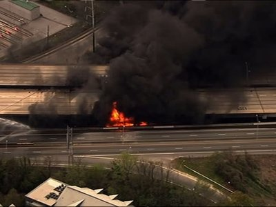 Atlanta Mayor: No Sign of Terror in Highway Fire