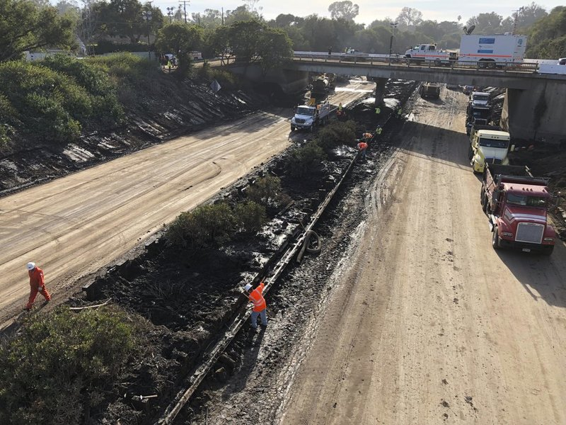 Major California highway swamped by deadly mudslides reopens (apnews.com)