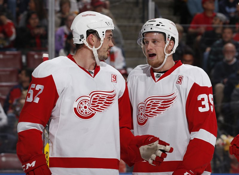 Anthony Mantha, Jonathan Ericsson