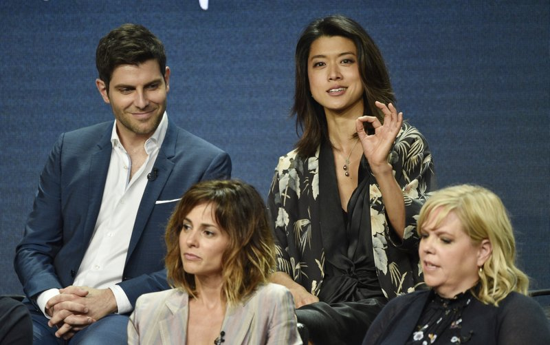 Grace Park, David Giuntoli, Stephanie Szostak, Dana Honor