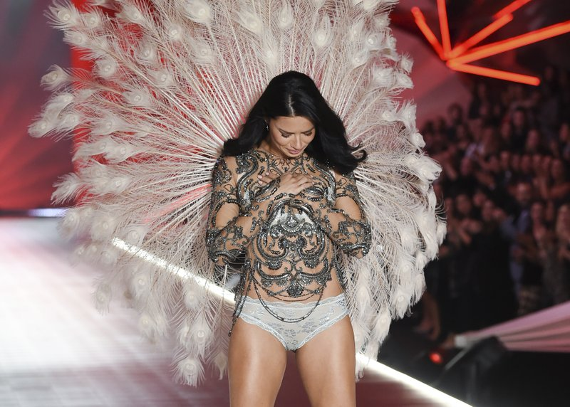 8488909eaa Adriana Lima. 1 of 35. Model Adriana Lima walks the runway during the 2018  Victoria s Secret Fashion Show at Pier 94 ...