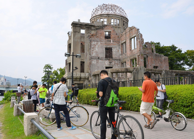 No more 'Pokemon Go' at Hiroshima atomic bomb memorial