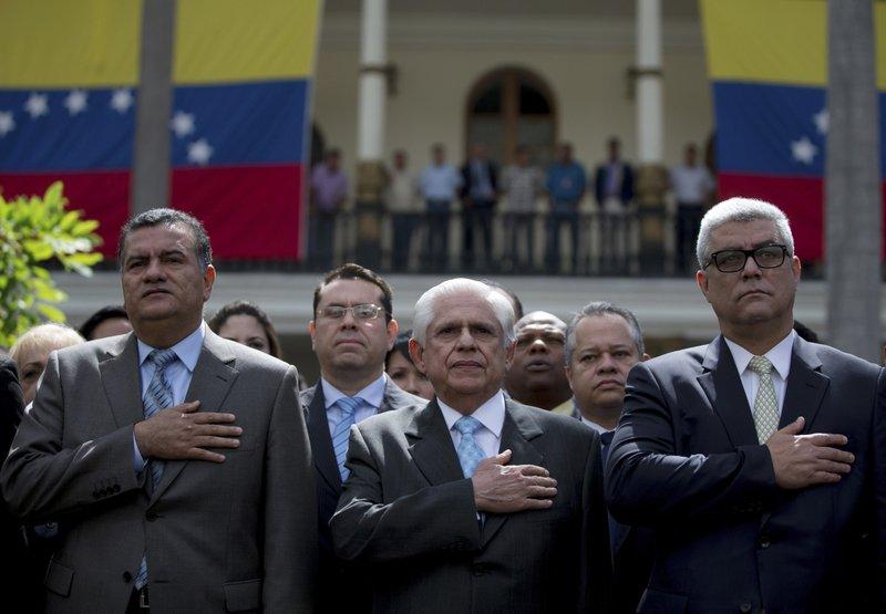 Omar Barboza, Julio Cesar Reyes, Alfonso Marquina