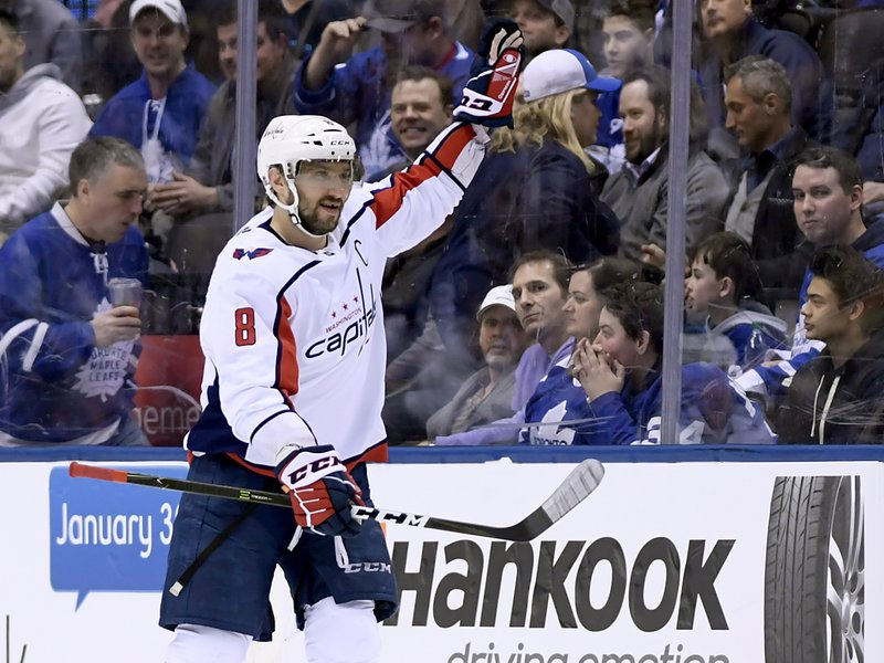 4855c6a48c2 Kadri gets hat trick, Maple Leafs beat Capitals 6-3