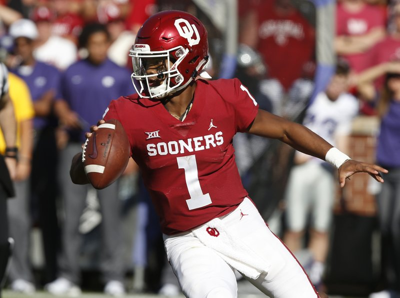 newest collection 8dd42 a117e Kyler Murray needs win at Texas Tech to keep OU on track