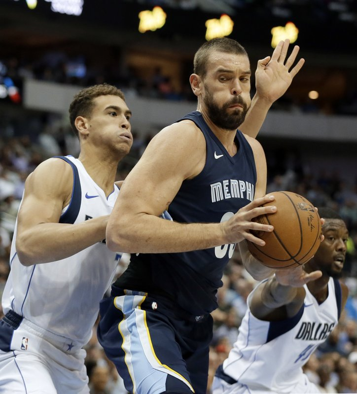 Dwight Powell, Marc Gasol