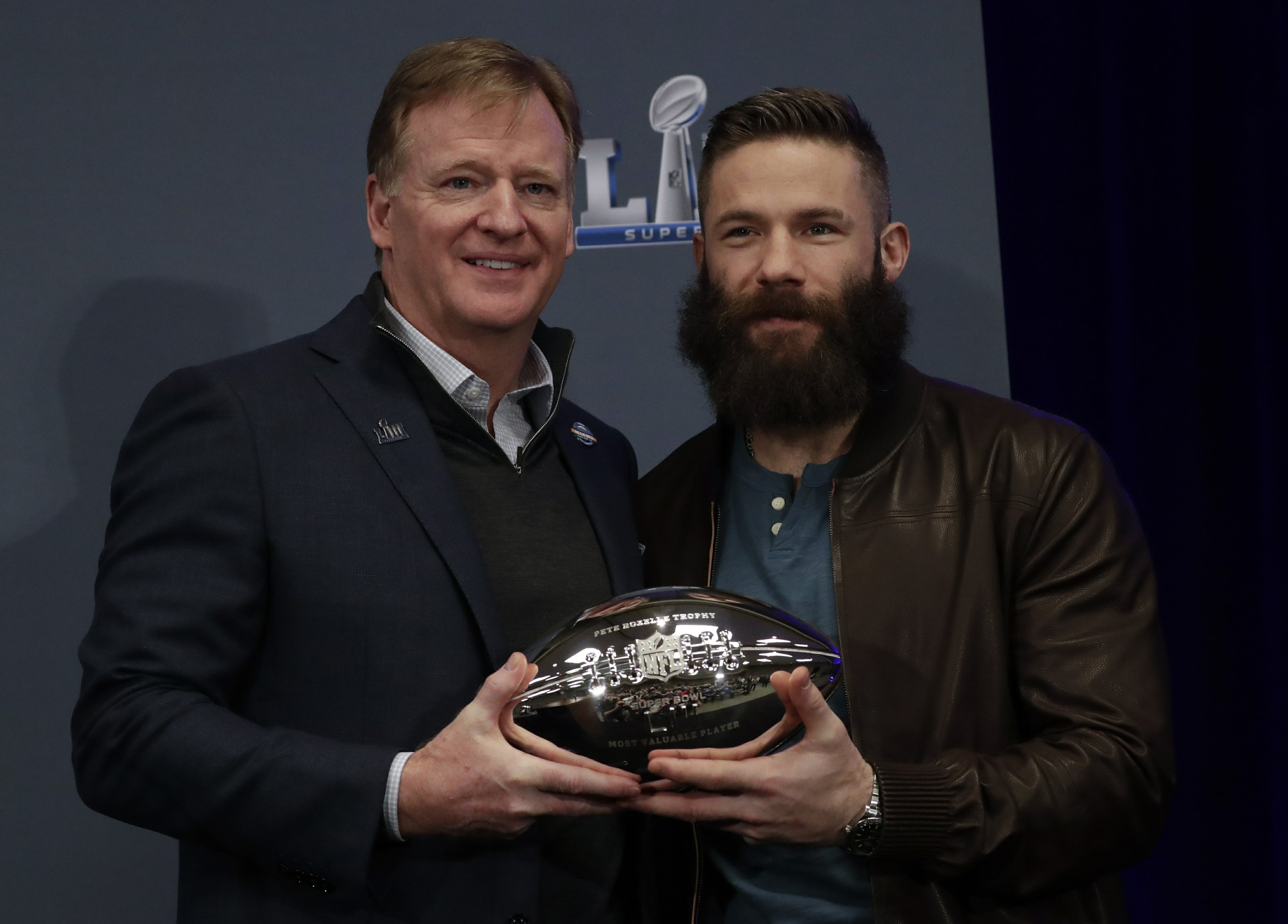 Column: Edelman is Super Bowl MVP, but don't forget cheating - Associated Press thumbnail
