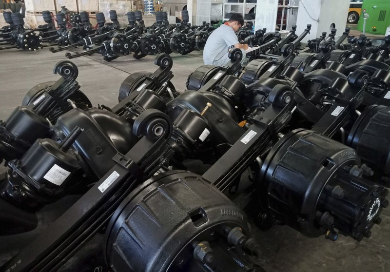 China retaliates in tariff feud, focuses on US  tires, rubber