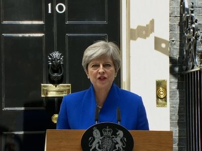 May: 'I Will Now Form a Government'