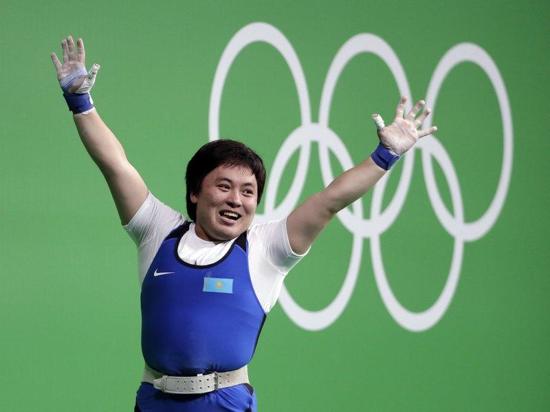 Kazakh weightlifter wins gold, sparks more doping concerns