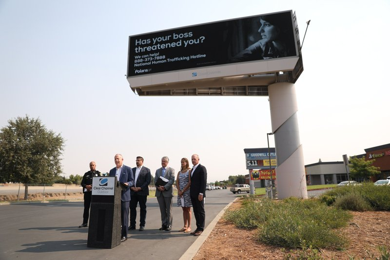 Polaris , Clear Channel Outdoor Launch Anti-Human Trafficking Campaign in Sacramento