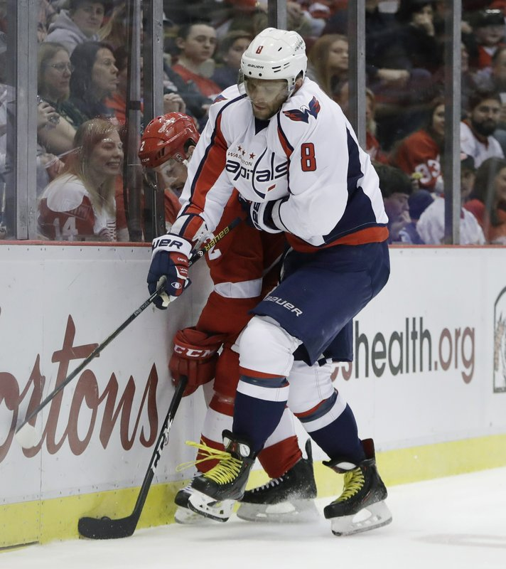 Brendan Smith, Alex Ovechkin