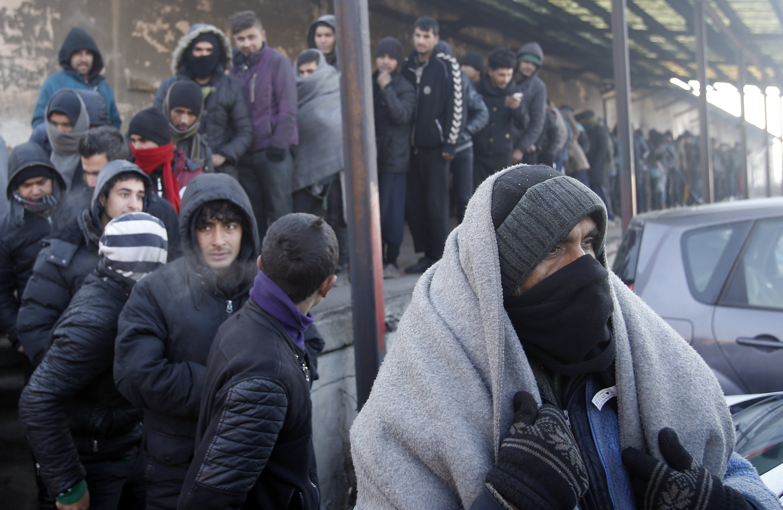 Deep freeze grips Europe, threatens homeless, migrants