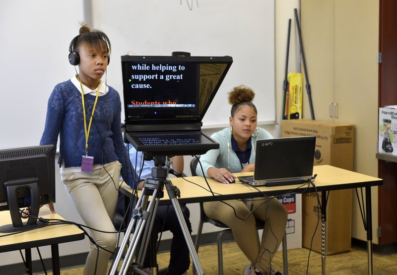 Nonprofit puts middle school student reporters on TV