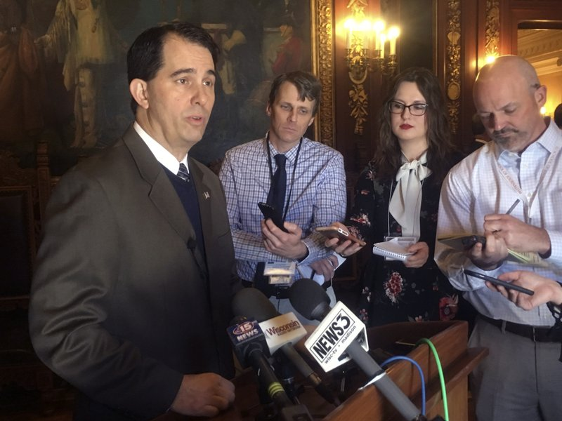 AP FACT CHECK: Walker touts unemployment over other measures