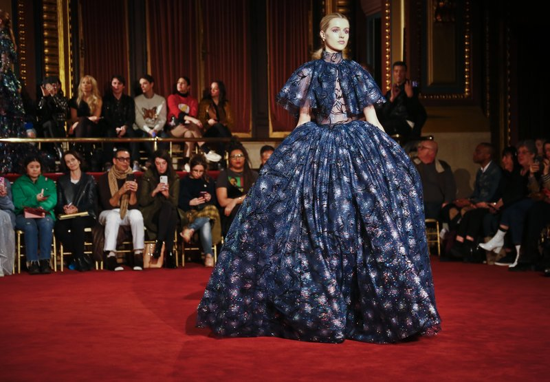41cf4212f92 Fashion from Christian Siriano is modeled during Fashion Week