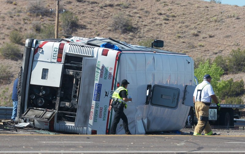 New Mexico Motor Vehicle Division Albuquerque Nm >> New Mexico Passenger Bus Crash Kills 3 Injures 24 Others