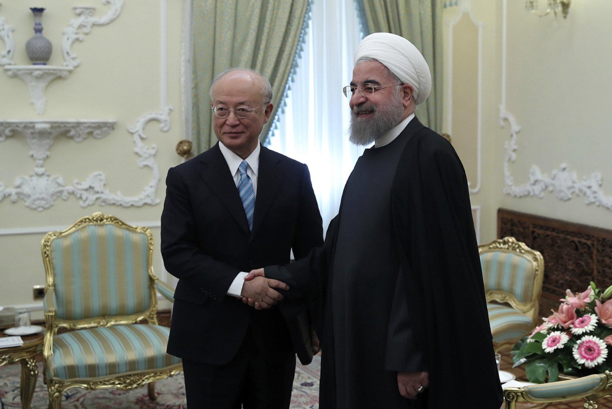 Head of UN nuclear watchdog visits Iran