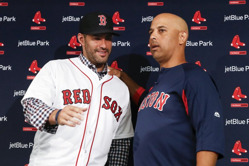 J.D. Martinez, Alex Cora