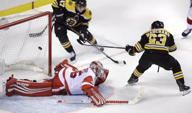 Brad Marchand, Jimmy Howard