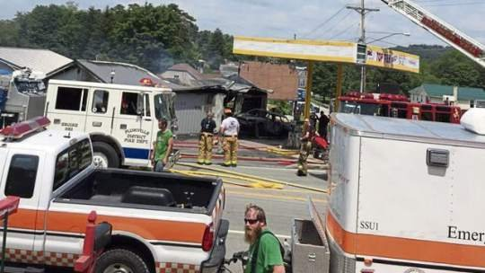 Indiana County gas station worker killed when driver hits pump, sparks fire