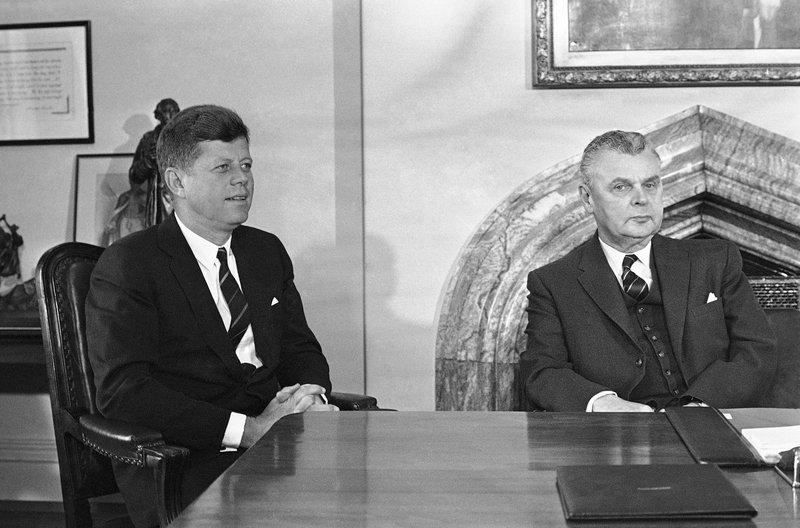 John Kennedy, John Diefenbaker