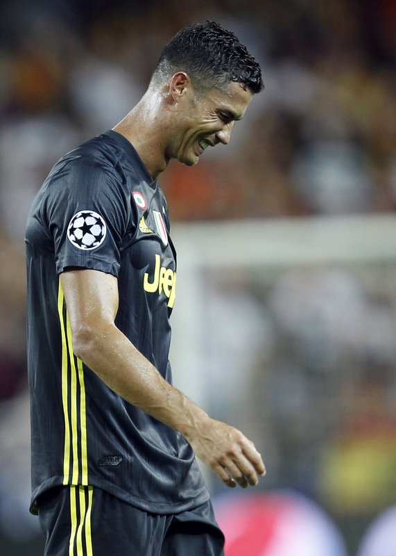 save off 3485e 87926 UEFA to judge Cristiano Ronaldo red-card case next week