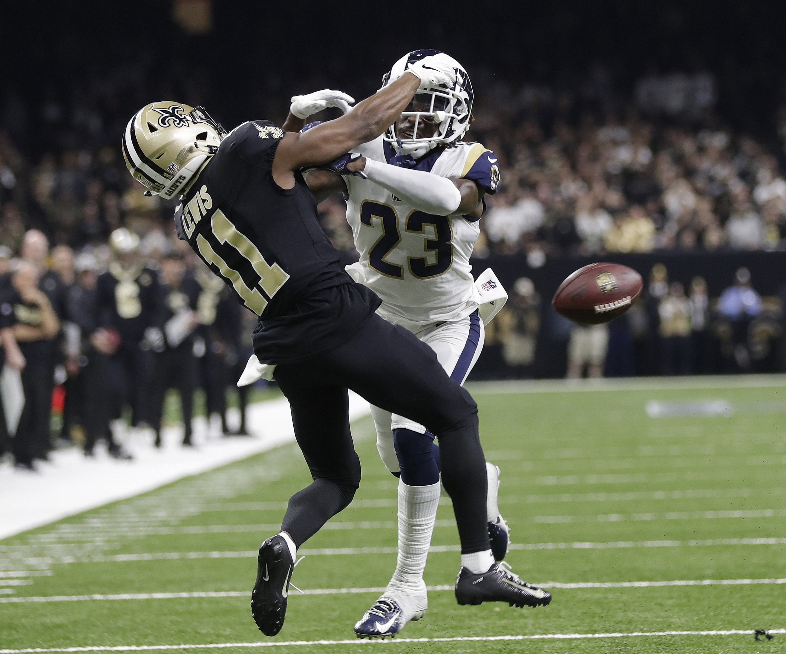 3e7a7a67 NFL: Rams-Saints rematch would mean pricey Super Bowl delay