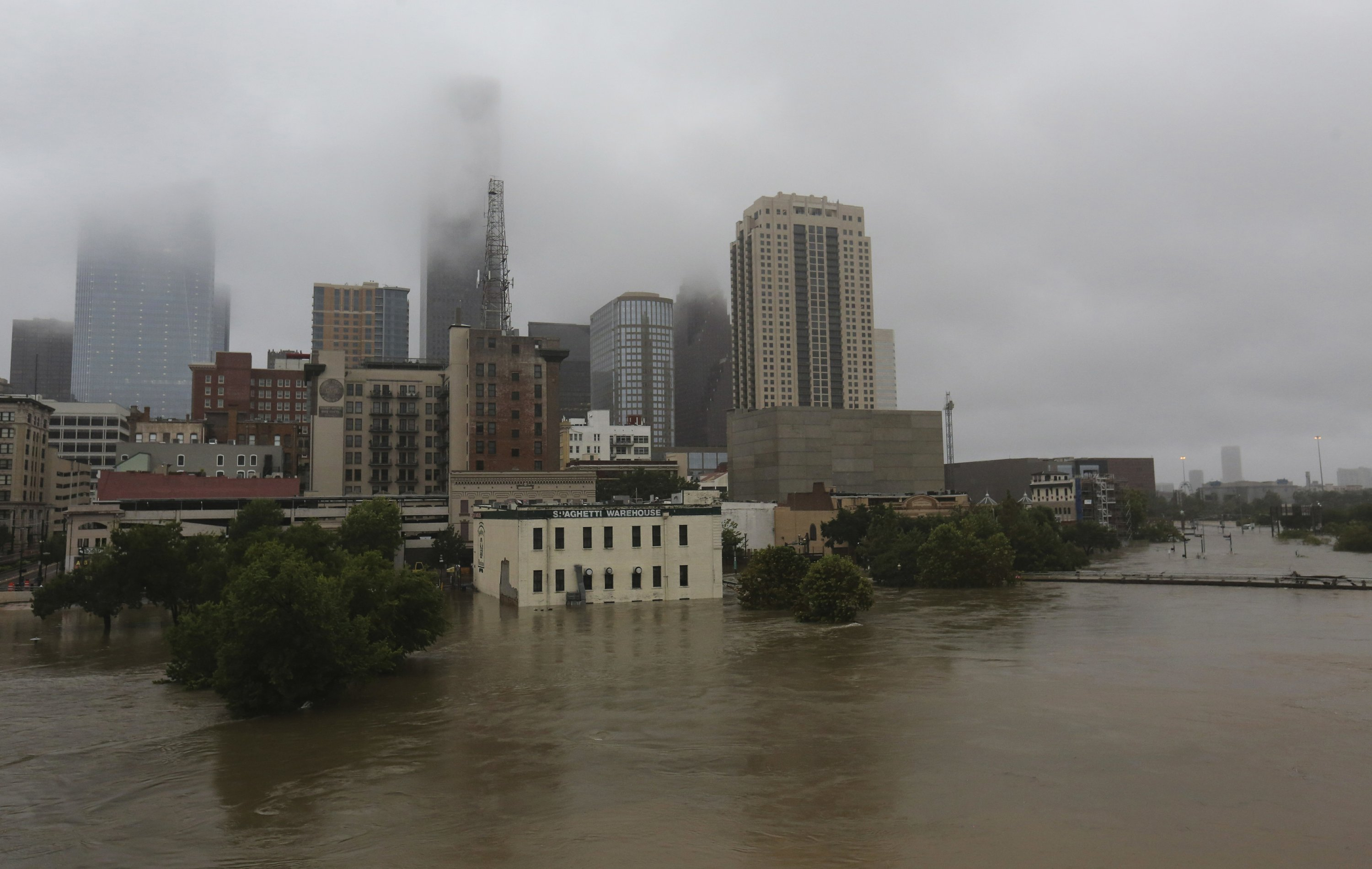 Houston skyscrapers may have worsened Hurricane Harvey rain