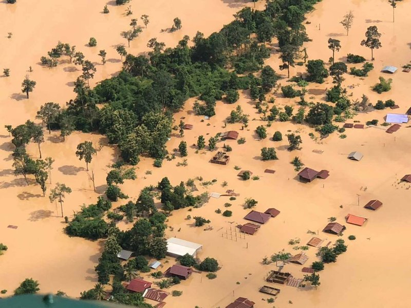 Hytera Responded Rapidly on Laos Dam Collapse Rescue