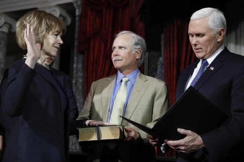 Tina Smith, Archie Smith, Mike Pence