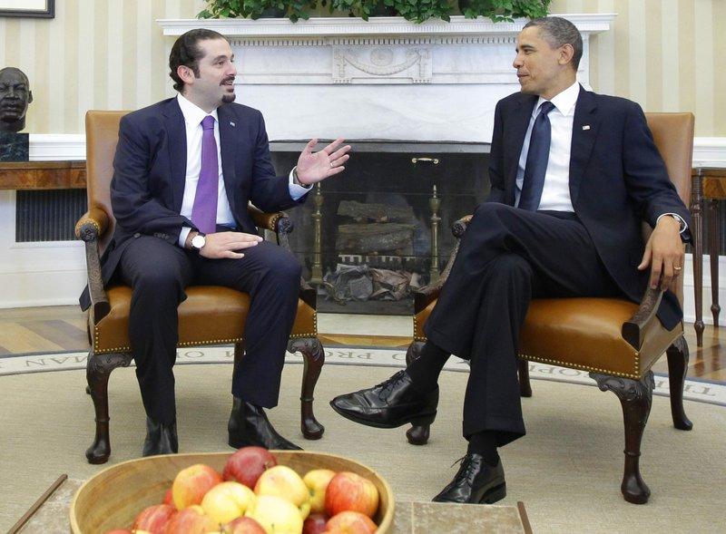Barack Obama, Saad Hariri