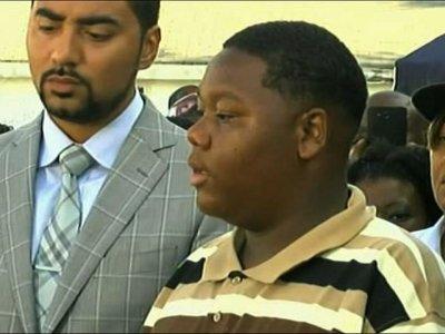 Son of Slain Louisiana Man Calls for Peace